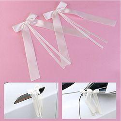 50 pcs/pack Délicate De Mariage Pew Fin décoration Bowknots Ruban Arcs Parti Voitures Chaises Décoration Bowknots PC894808