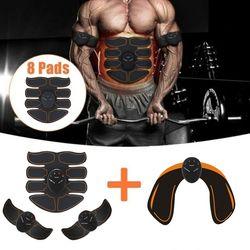 6 Режим Smart электрический стимулятор мышц пресса ABS ems Хип тренер фитнес шейпер для ягодиц потеря веса, похудения массаж