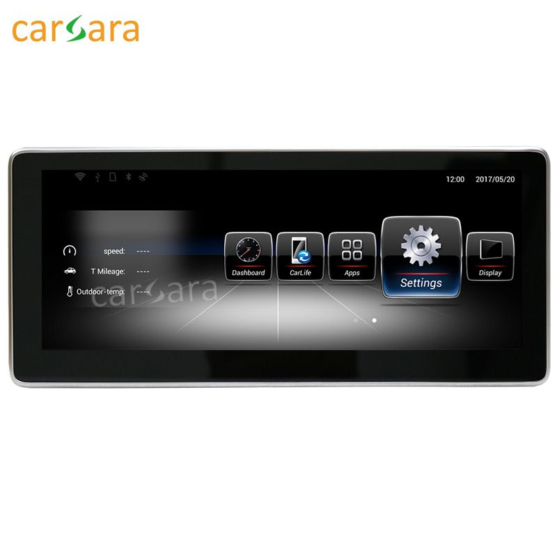 carsara Android Navigation display for Benz CLA GLA A Class W176 2013-15 10.25