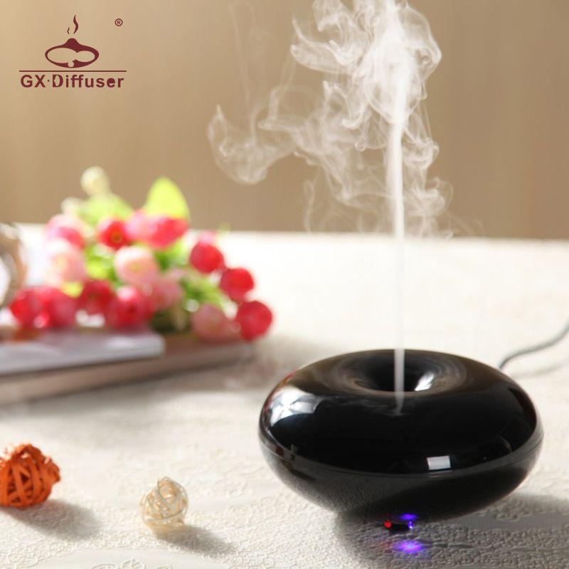 GX.Diffuser 160ml GX-03K Perfume Aromatherapy Essential Oil Aroma Diffuser Ultrasonic Air Humidifier Electric Mist Maker Fogger