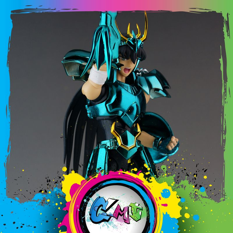 CMT en stock Dragon Shiryu V3 tissu final EX armure en métal grands jouets GT EX Bronze Saint Seiya mythe figurine en tissu