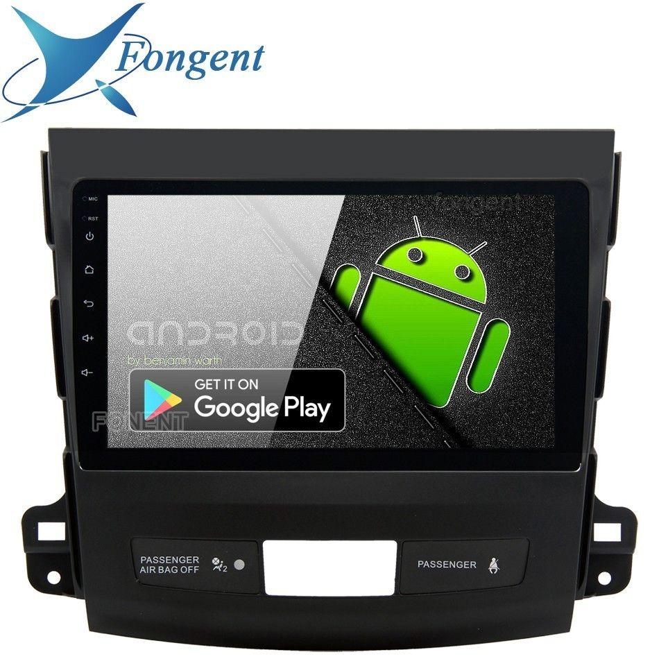 9 IPS 1Din Auto Radio Android 9.0 für Mitsubishi Outlander Multimedia 2007 2008 2009 2010 2011 GPS Auto Stereo DPS multimedia