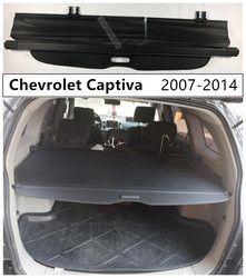 Mobil Belakang Perisai Keamanan Kargo untuk Chevrolet Captiva 2008 09 2010 2011 2012 2013 2014 Berkualitas Tinggi Auto aksesoris