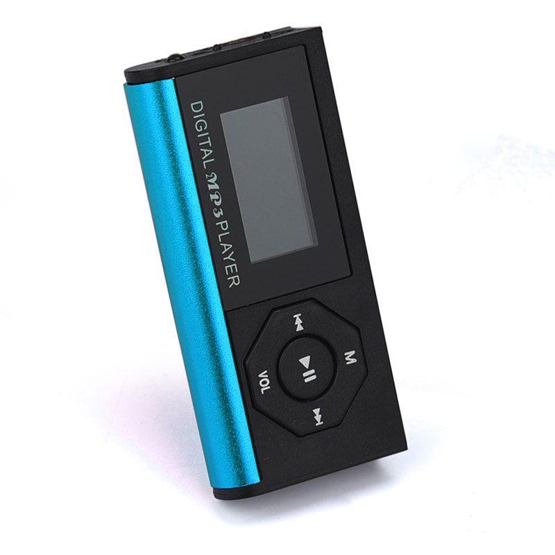 Puscard Heiße Hohe Qualität mini Clip Mp3-player Lcd-bildschirm Unterstützung 16 GB Micro TF/SD Einbauschlitz Sport Mp3-player Mit Schirm