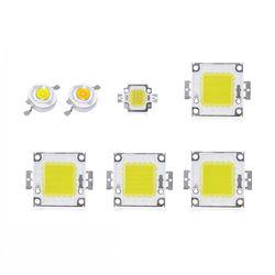 1 шт. 1 Вт светодиодные лампы 3 W Светодиодный прожектор лампы мощностью 10 Вт, 20 Вт, 30 Вт, 50 Вт, 100 Вт Высокая мощность светодиодный s лампа чип, COB ...