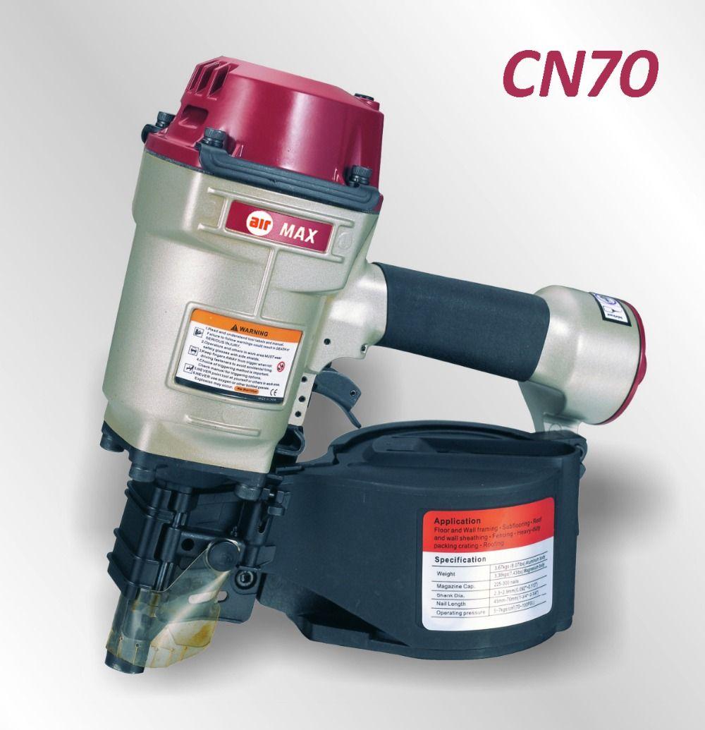 AIR PALETTEN COIL NAIL GUN CN70 (nicht die gewohnheitssteuer)