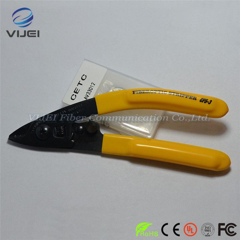 Miller FTTH tools Optical Fiber Stripping Pliers CFS-3 Three-port Fiber Optical Stripper