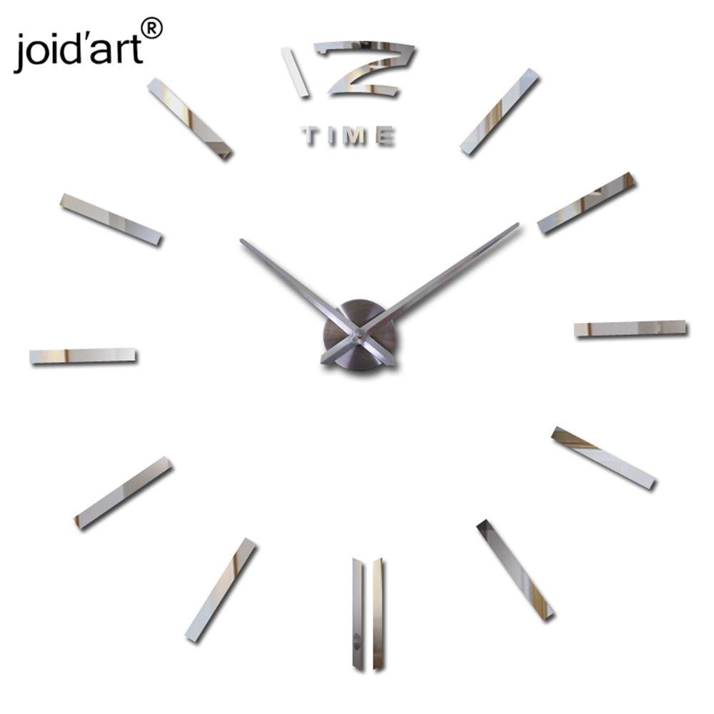 2019 offre spéciale horloge murale grandes horloges murales décoratives décor maison bricolage horloges salon reloj mural autocollant