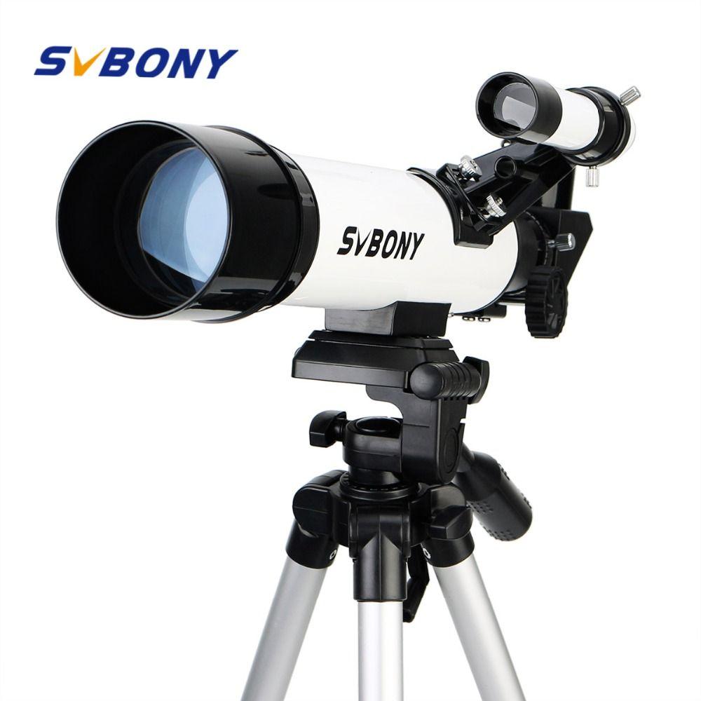SVBONY SV25 Astronomy Telescope 60/420mm Refractor for Beginner School Kids with Mount Adapter Professional best Price F9304