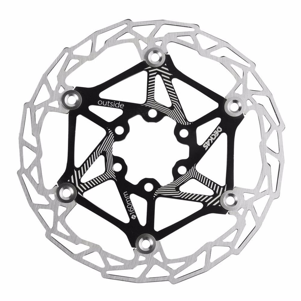 Ultra-light MTB Mountain Bike Cycling Brake Disc Float Floating Pads 160mm 6 Bolt Rotors Parts Cycling Accessories