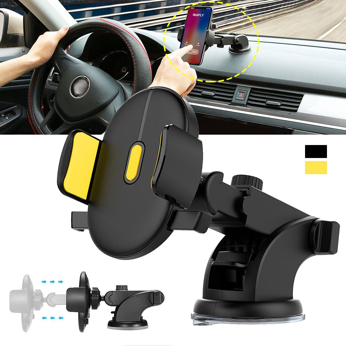 Réglable Automatiquement De Verrouillage Téléphone Mount Holder Pare-Brise Co-pilote Universel De Voiture Support de Téléphone Accessoires Intérieurs Automobiles