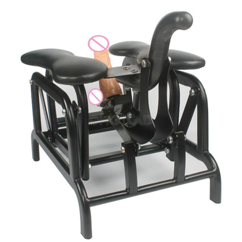 Hand Schaukel Sofa Sitz Sex Stuhl Verbunden Dildos mit Saug und Fuk Robo Dildos Klassische Sex-spielzeug für Frau und mann