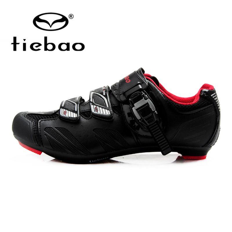 Tiebao Professionelle Fahrrad Radfahren Schuhe Road Racing Selbstsichernde Herren Atmungsaktive Sport Sportlich Zapatos Ciclismo