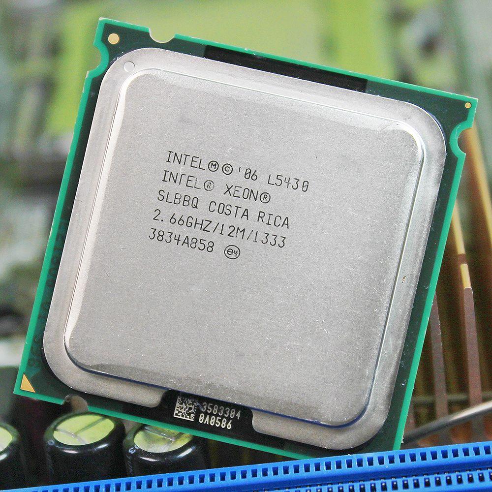 INTEL XEON L5430 775 Prozessor INTEL L5430 CPU 771 zu 775 (2,660 GHz/12 MB/1/Quad-Core) LGA775 775 motherboard garantie 1 jahr