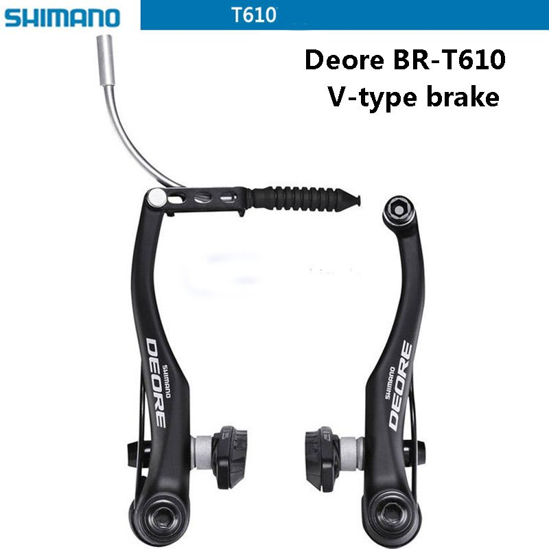 SHIMANO DEORE Bicycle BR-T610 V brake caliper mountain bike V-brakes aluminum V brake Bicycle parts