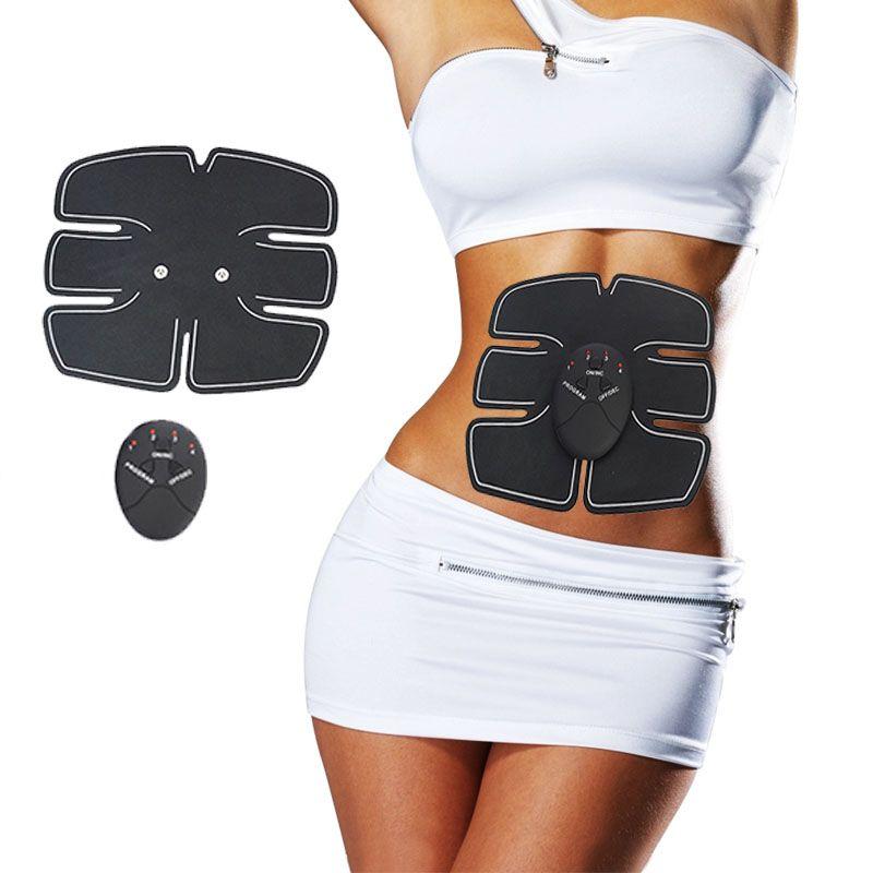 Электрический стимулятор массаж Вес для похудения массаж мышц электронные похудения Массажер для Фитнес потери Вес здоровья 3