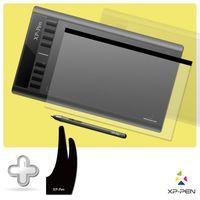 XP-Pen Star03 Графический Планшет Цифровой планшет для рисования Комплект с Перчаткой и Защитной Пленкой