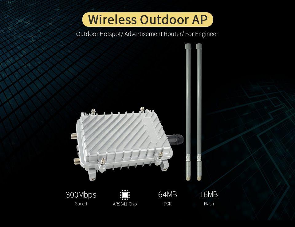 COMFAST CF-WA700 300 Mbps Wireless AP basis station größeren bereich wifi abdeckung outdoor ap wi fi router hinzufügen 2 * 8dBi FRP wifi antenne