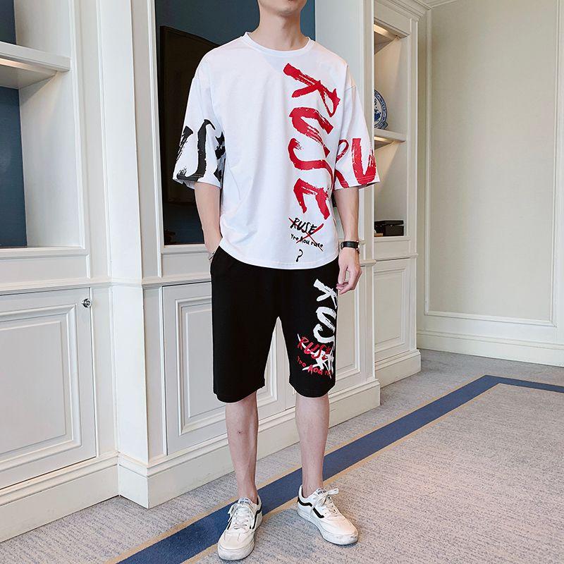 Männer kurzarm shirt Mode gestreiften shirt Hübscher passenden sommer Casual Shirts Anzug B218