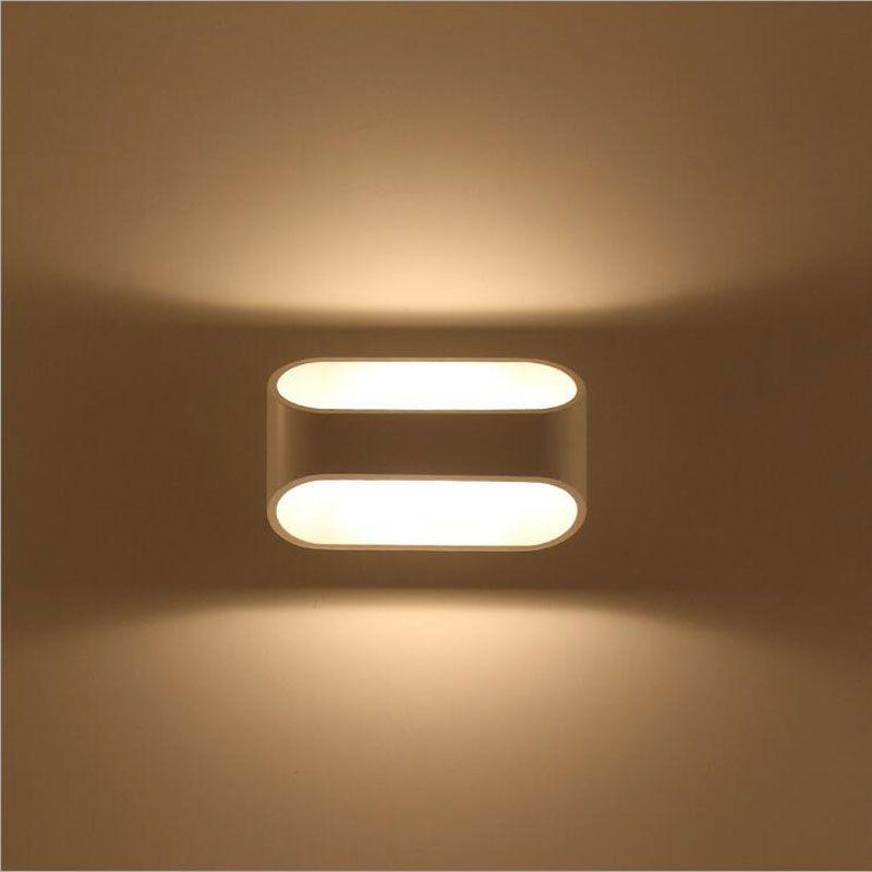 Современный 5 Вт светодиодный светильник настенный Освещение в помещении спальня гостиная изображение Лестницы прохода ночной ТВ фон бра б...