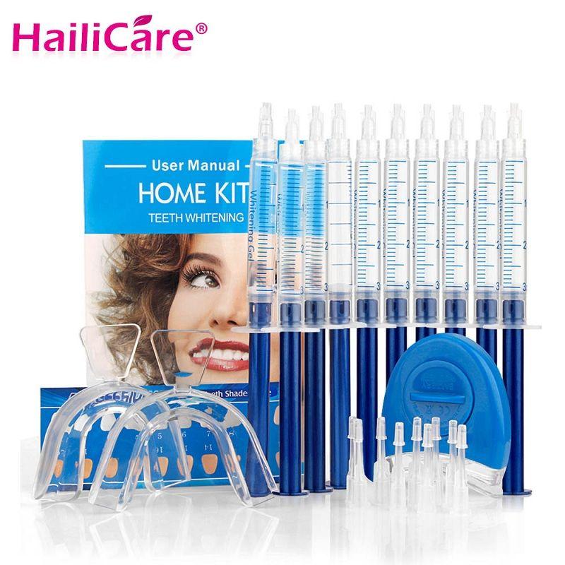 Zähne Bleaching Oral Gel Pen Polnischen Kits Peroxid Professionelle Bleichen Dental Hygiene Pflege Werkzeuge Zahn Aufheller mit LED Licht