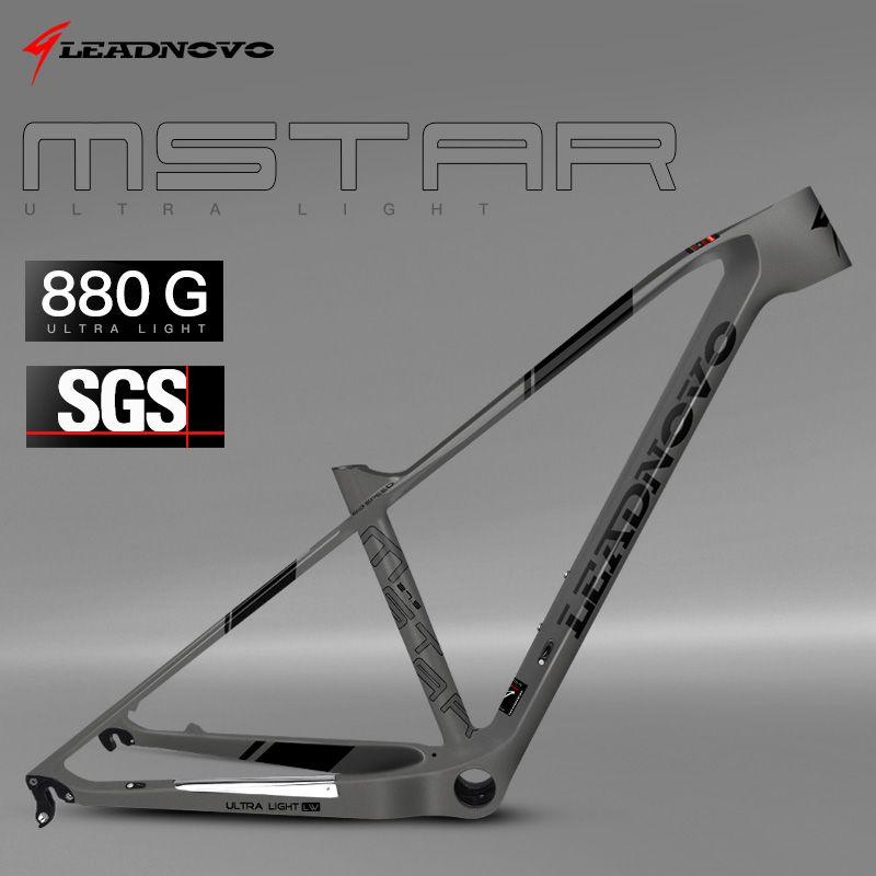 Carbon Frame 2019 super light Mountain Frame 29er 27.5er China Chinese taiwan race carbon fibre mtb bike bicycle frames LNMSTAR
