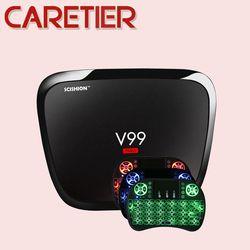 1 PC Scishion V99 HERO 4 GB Ram GB Android 5.1 Smart TV Box RK3368 Octa Core Mali-T6X