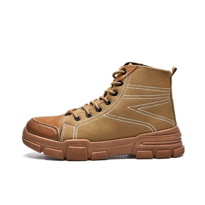CPI Winter Shoes Men Plush Warm 2018 Winter Boots Men Anti skidding Men Boots fashion Plus velvet Snow boots for men ZY-771