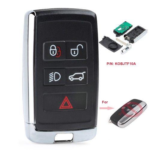 KEYECU Geändert Smart Remote-Auto Schlüssel Fob 315 MHz/433 MHz für Land Rover LR2 LR4 2012-2015, range Rover Evoque/Sport