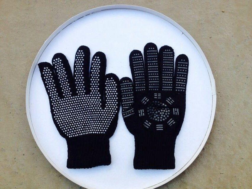 2 pièces 1 paire bonne qualité soulagement de la douleur thérapie magnétique gants Tourmaline mains gants livraison gratuite