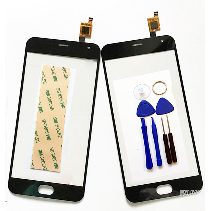 New Touch Screen For Meizu M2 mini / Meilan 2 M578i Touch Panel Digitizer Glass Sensor M2 Mini TouchScreen +Tools +Tape