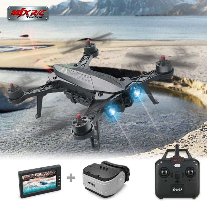 Hot Sale MJX Bugs 6 Brushless Motor C5830 Camera 3D Roll Flip Racing 2.4G 4CH FPV Quadcopter RC Camera Drone Toy RTF VS Bugs 3 8