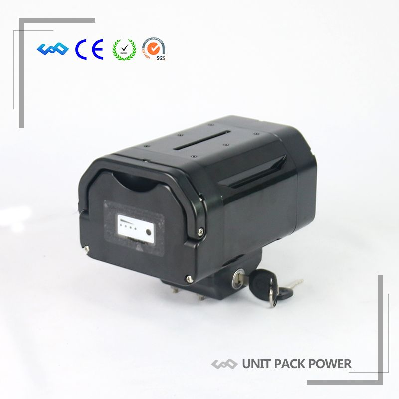 US EU Free Tax Great Quality Rechargeable 36V E-Bike Seat Post Lithium Ion Battery 36V 10.4Ah With 42V 2A Charger
