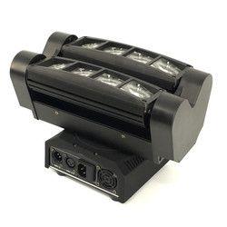 Expédition rapide Mini LED Faisceau Araignée 8x10 W RGBW Tête Mobile Éclairage LEDSpider Lumière LED Party DJ Faisceau Lumière Principale mobile