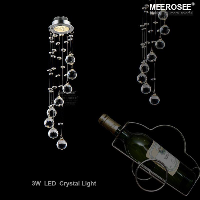 Mini Moderne Kristall Leuchte Decke Spiral Kristall Lampe Kristall lustre leuchte LED für Gang Flur Veranda Treppe