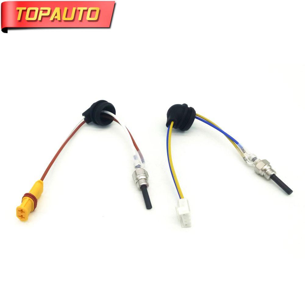 TopAuto 12V 24V Ceramic Pin Glow Plug For Eberspacher Airtronic D2 D4 D4S Air Diesel Parking Heater For Car Truck Boat Caravan