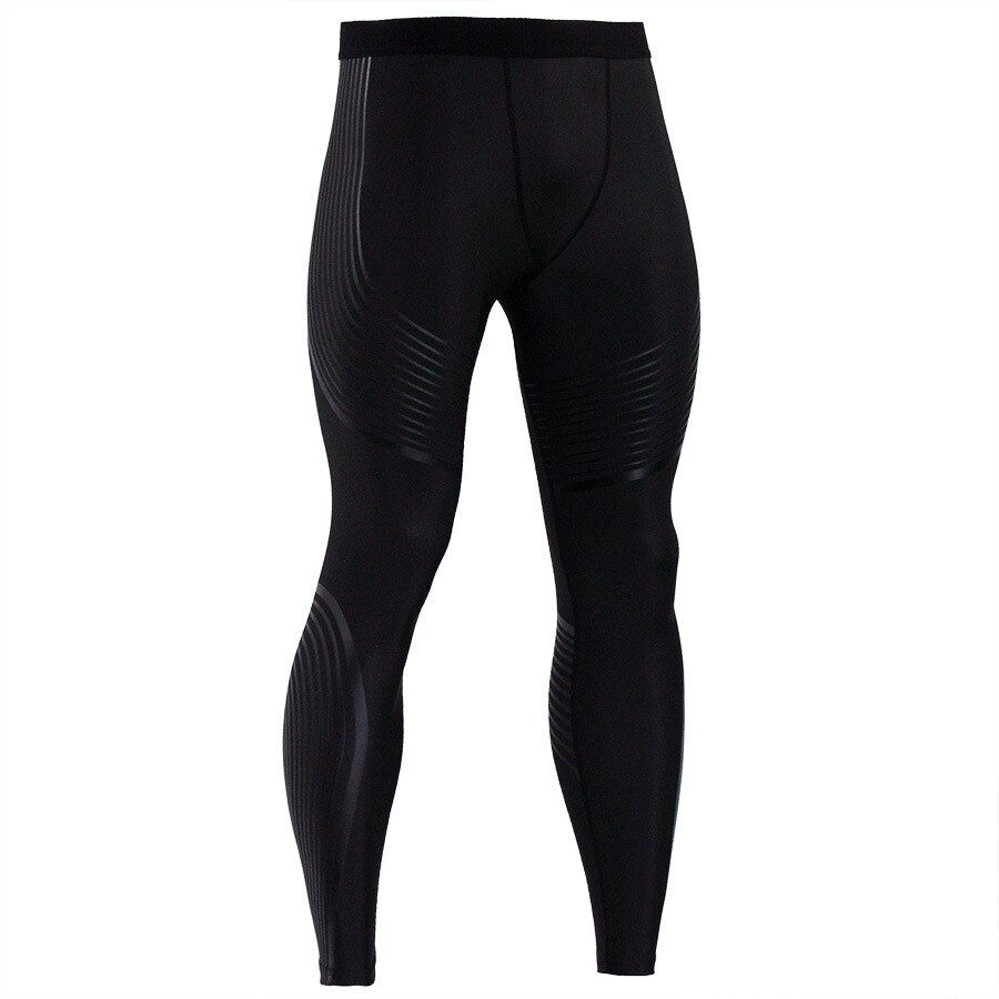 2018 Men's Compression Pants Running Tights Men Joggers Jogging Skinny Sport Leggings Gym Compression Fitness Athletic Trousers