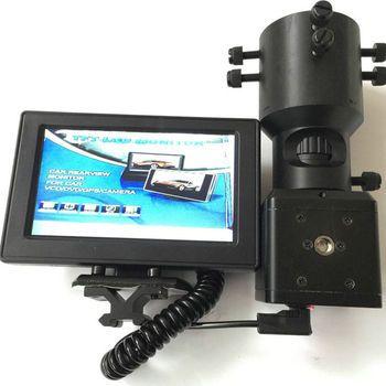 38-45 للرؤية الليلية Hungting كاميرا تعقب w 3 واط IR الليزر الشعلة + 25 ملليمتر/30 ملليمتر جبل عدسة CCD شاشة كاميرا ل بندقية نطاق أحادي