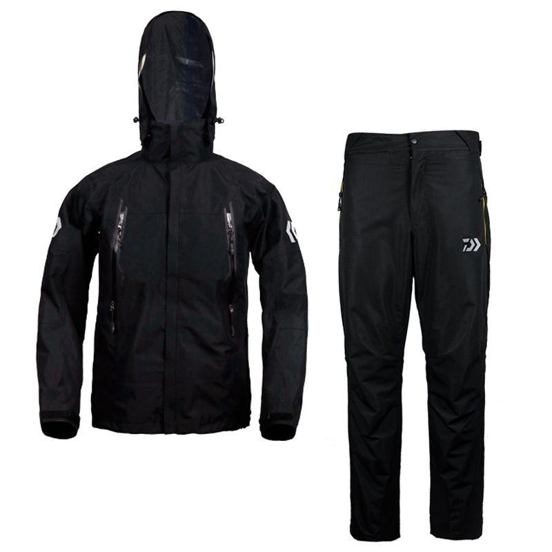 2017 hohe Qualität Angeln Kleidung Setzt Männer Atmungsaktive Outdoor-sportbekleidung Anzug Winter Angeln Hemd und Hose FS032