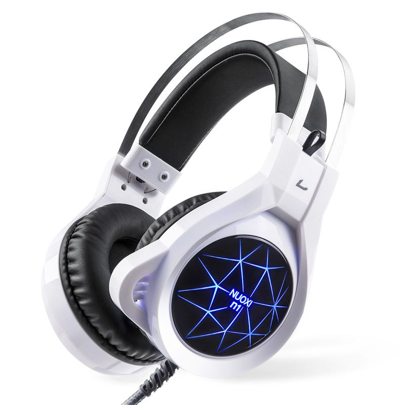 New <font><b>Super</b></font> LED Backlight Gaming Headphones Deep Bass Comfortable Computer Game Headset with 3.5mm Earphone Microphones