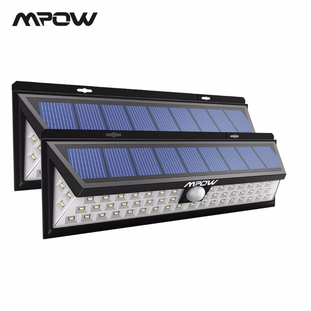 Mpow CD020 54 LED Lights Waterproof Solar Lights with 120 Degree Wide Angle Motion Solar Lamp With 3 Modes Outdoor Garden Garage
