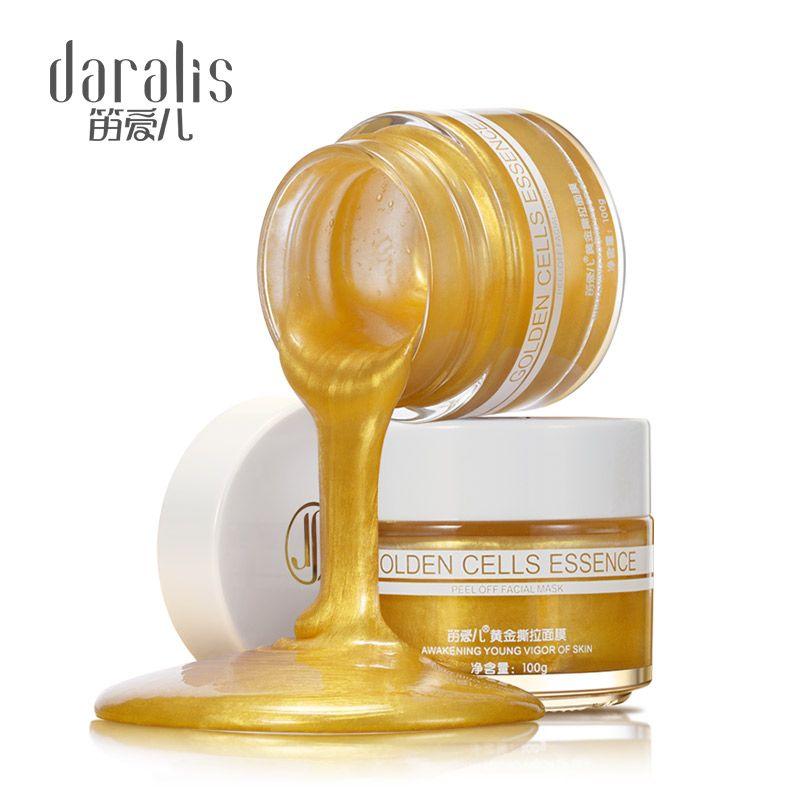 100g 24 K Gold Peel Off Face Maske Kollagen Gesichts Maske Feuchtigkeits Mitesser Entferner Pore Streifen Peeling Nase Maske für Haut Pflegt