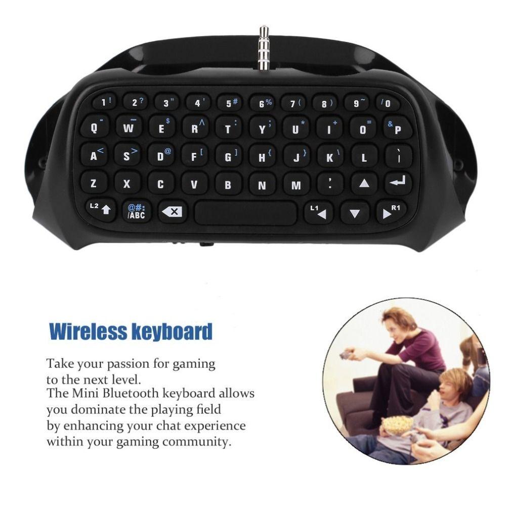 Лучшие продажи Беспроводной аксессуар Bluetooth клавиатура адаптер для Sony PS4 контроллер наличии offerbest продажи и новейших в 2017