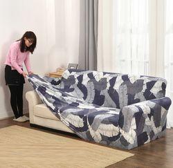 Slipcovers диван крышка все включено Нескользящая секционные эластичный чехол для дивана Чехол Диван Полотенца один/два три/Четырехместный