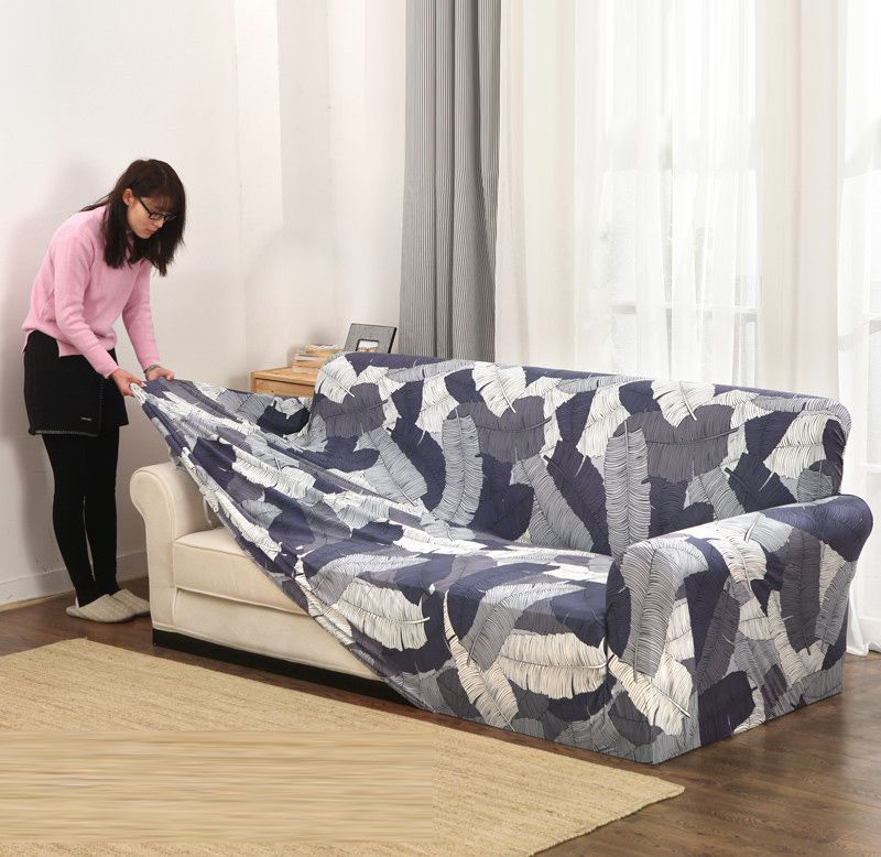 Slipcovers Sofa Covers all-inclusive slip-resistant sectional elastic full Couch Cover sofa Towel Single/Two/Three/Four-seater