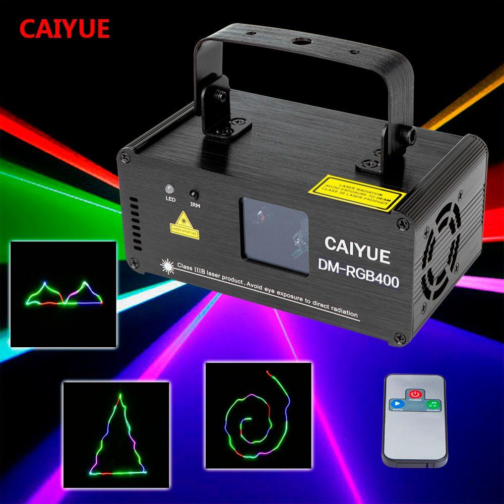 Lumière de projecteur d'effet d'éclairage d'étape de Scanner de ligne de Laser de rvb DMX à distance
