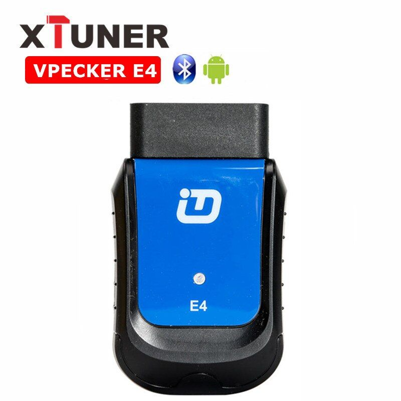 XTUNER VPECKER E4 Easydiag Bluetooth OBDII Scan Tool Full System OBDII Scan Tool for Android