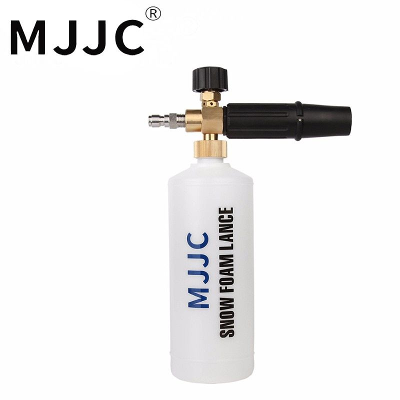 MJJC Brand Foam Gun 1/4 Quick Connect Foam Lance with one quarter quick connection fitting Foam cannon quick connector