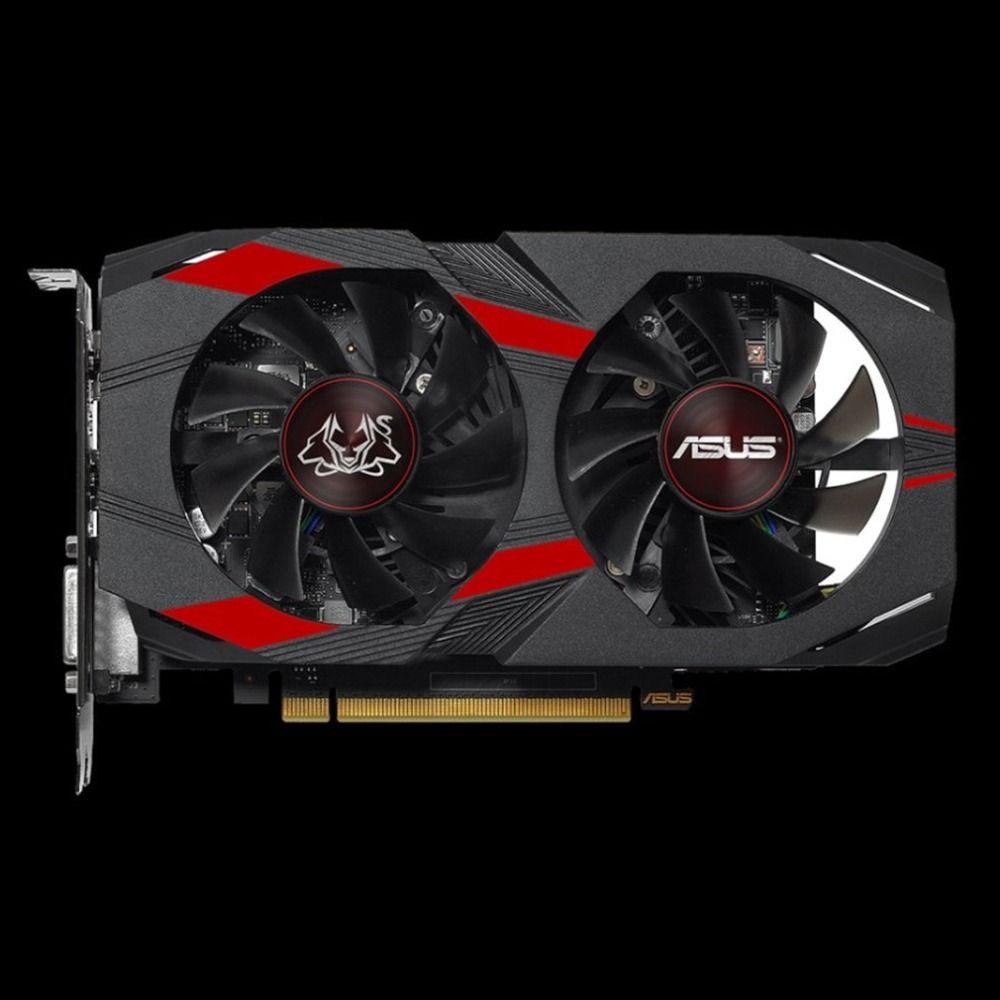 ASUS ROG Strix GeForce GTX 1050 Ti 4GB GDDR5 Advanced Edition VR Bereit DP HDMI DVI Gaming Grafikkarte