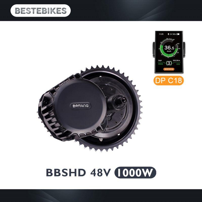 Bafang BBSHD 1000w motor 44T/46T bbs hd 1000W bbs03 electric bike conversion kit